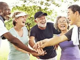 Active Adult Lifestyle with Seniors meeting together for Activities at OTOW