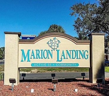 Marion Landing 55+ communities in Florida homes for sale