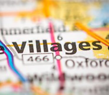 The Villages FL map