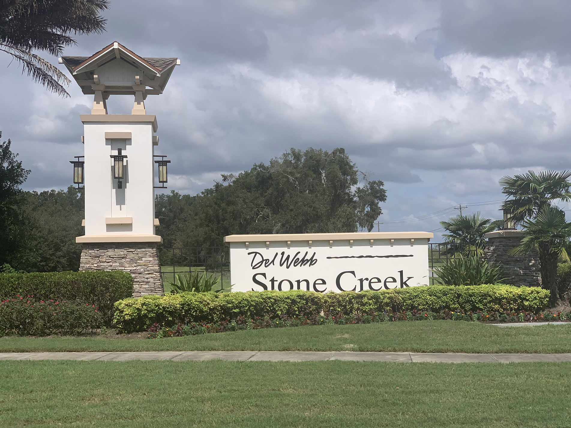 Stone Creek Ocala FL Entrance Sign