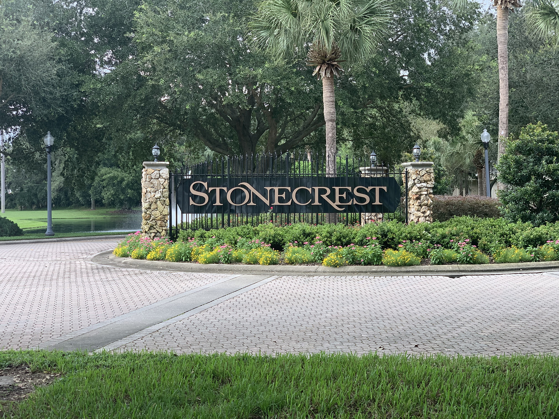 Stonecrest summerfield fl community sign