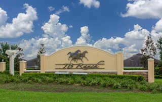 JB Ranch community sign