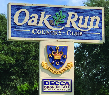 Oak Run 55+ Florida Community