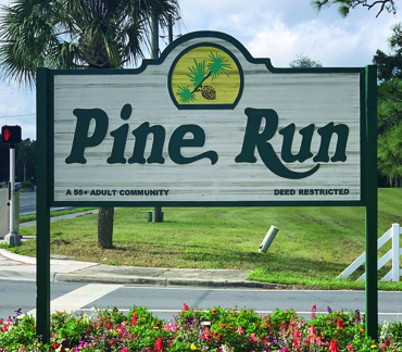 Pine Run Estates 55+ communities in Florida homes for sale