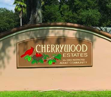Cherrycreek Estates 55+ communities in Florida homes for sale