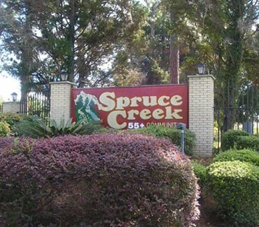 Spruce Creek North 55+ communities in Florida homes for sale