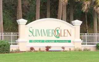 SummerGlen 55+ communities in Florida homes for sale