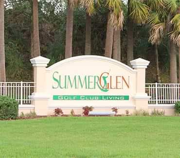SummerGlen 55+ communities in Florida homes for sale
